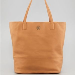 Tory Burch Michelle Bucket Tote Brown